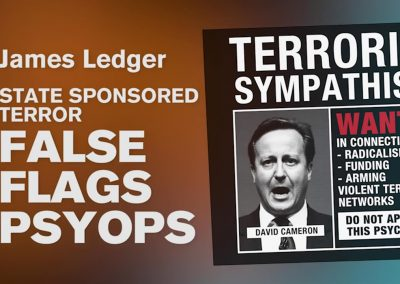 State sponsored terror false flags psyops – James Ledger