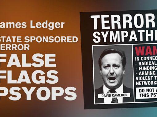State sponsored terror false flags psyops – James Ledger
